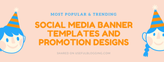 15+ Social Media Banner Templates and Promotion Designs 2017
