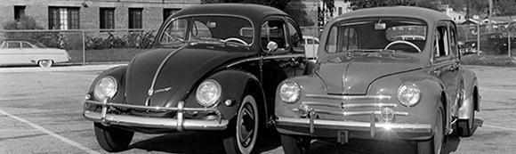 Volkwagen's first presence in the U.S.