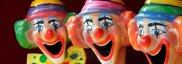 What is the connection between clowns and Irish immigrants?