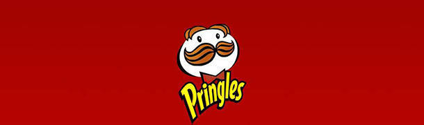 The changes on Pringles logo as years go by