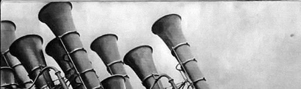 "What was named ""war tuba""?"