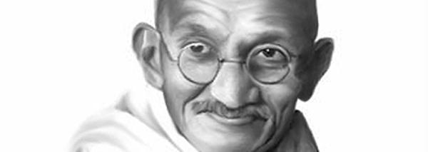 "Gandhi did not say  ""Be the change you wish to see in the world"""