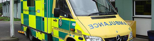 Why is 'ambulance' spelled backwards?