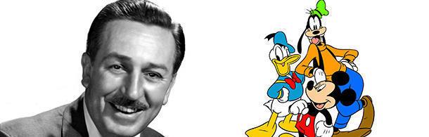 Walt Disney was afraid of mice