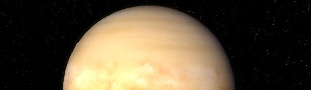 Venus rotates backwards from the rest of the planets