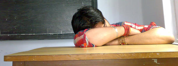 A student didn' t sleep for 11 days