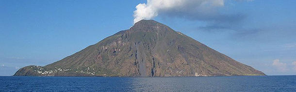 Which continent has no active volcanoes?