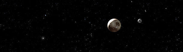 Pluto is smaller than Russia