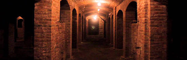 The purpose of building the Indianapolis catacombs is unknown