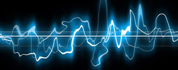 What sound does an atom make?