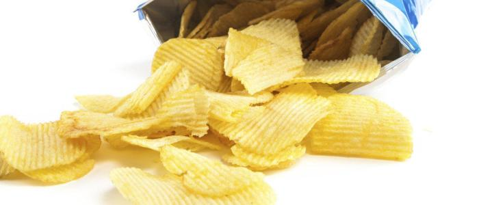 Why people can't eat only some chips?