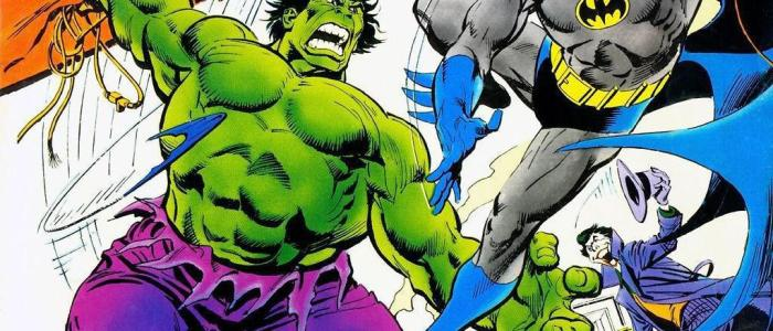 How did Batman once beat Hulk?