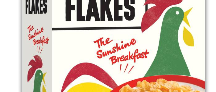 Who invented Kellogg's Corn flakes and for which reason?