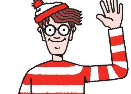 Why can everyone find Waldo in under 10 seconds on almost every illustration?