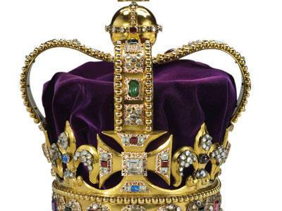A strange story about the royal English crown!