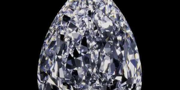 How was the world's largest diamond transported from Africa to England?