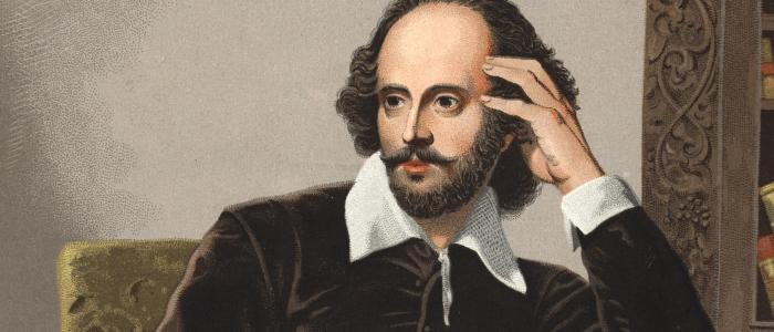 What was Shakespeare's real surname?
