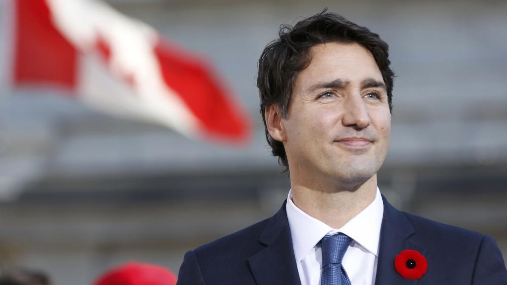 Trudeau, Tusk take aim at Trump at close of Canada EU summit