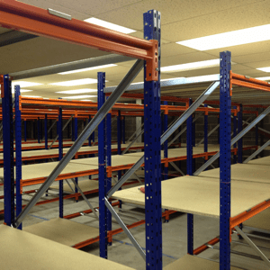 New Longspan Shelving, Heavy duty warehouse shelving