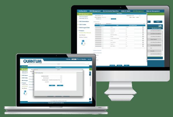 SDS Management Software | Quantum Compliance