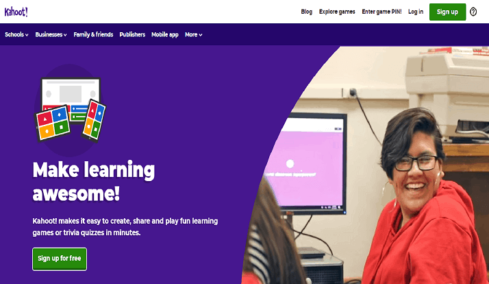 Kahoot it the Learning Game - Create quizzes & Enter Game