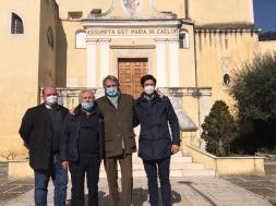 Assessore regionale Casucci a Durazzano con i rappresentanti dell'Associazione Gustarte