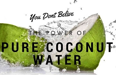 You Dont Belive The Power of Pure Coconut Water