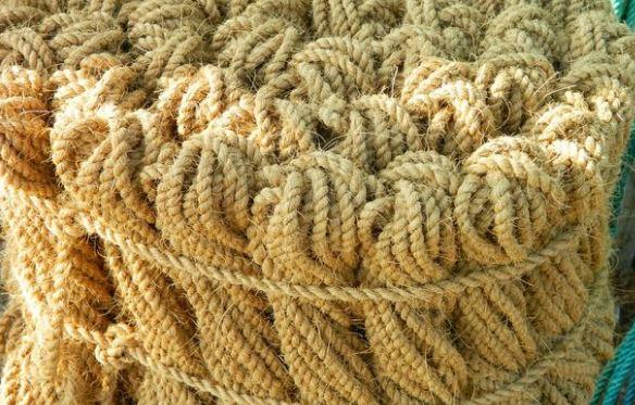 coconut fibre rope
