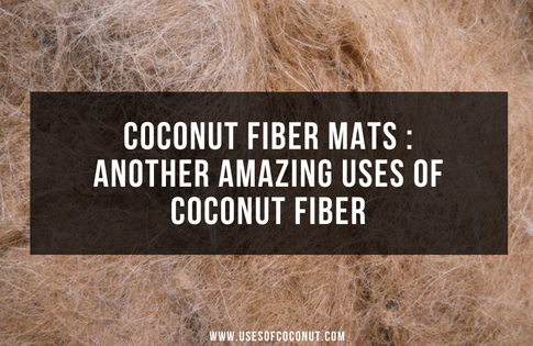 Coconut Fiber Mats : Another Amazing Uses of Coconut Fiber