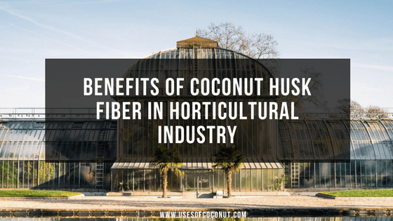 Benefits of Coconut Husk Fiber in Horticultural Industry