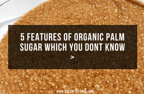 5 Features of Organic Palm Sugar Which You Dont Know