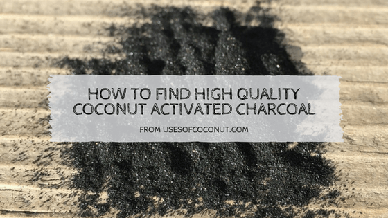 coconut activated charcoal