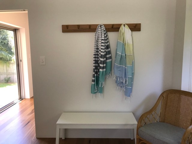 coat rack at JEST 2