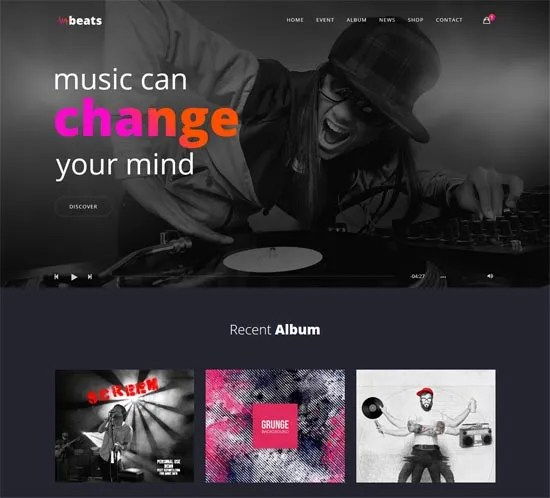 Beats Music Template