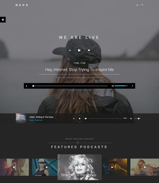 Nava Music Template