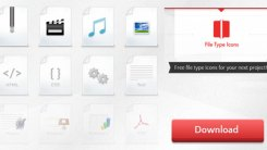 Free Download File Type Icon Set in PNG and PSD