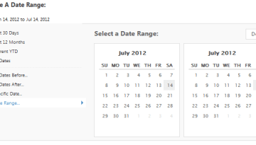 Interactive Date Range Picker in jQuery