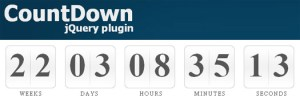 jQuery Countdown Timer Plugin For Clean Coming Soon Pages