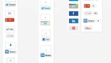 Beautiful Floating Share bar Gadget For Blogger