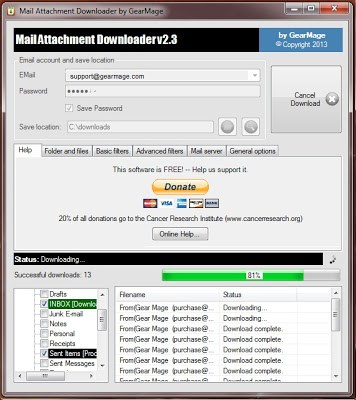 How To Extract & Download Multiple Email Attachments