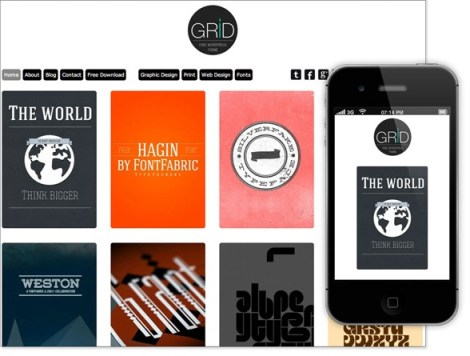Grid Free Responsive WordPress Themes