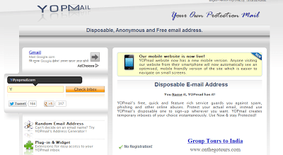 YopMail: temporary email address