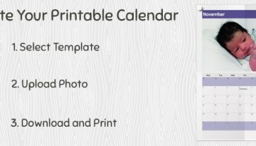 Design your Own Photo Calendar with Pically