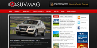 SUV Mag Blogger Template
