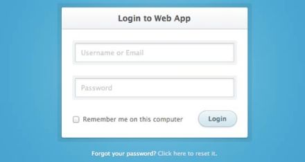 simple-login-form