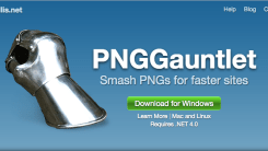 Compress PNG Images with PNGGauntlet