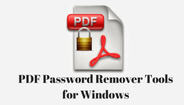 Top 5 Free PDF Password Remover Tools for Windows