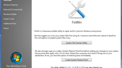 Fix Common Windows Problems with FixWin