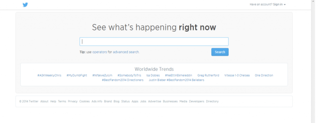 Twitter Search