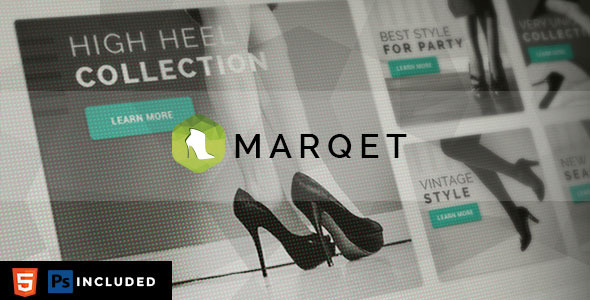 MarQet - Responsive eCommerce Template